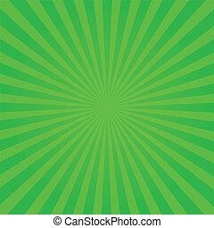 verde, sunburst