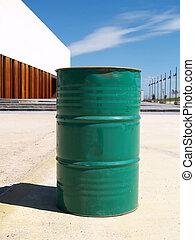 verde, tambor