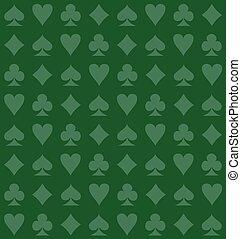 verde, tarjeta, plano de fondo, traje