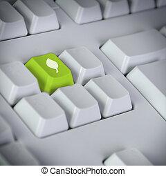 verde, tecnología