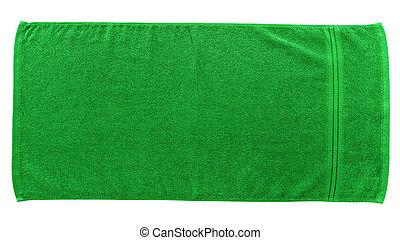 verde, toalha praia
