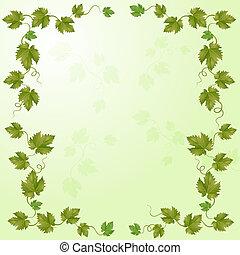 verde, viña