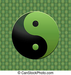 verde, ying-yang