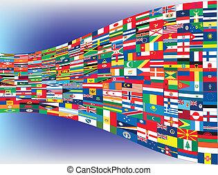 verden, flag