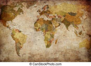 verden kort
