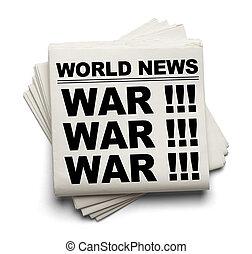 verden, krig, nyhed