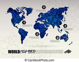 verden, mesh, teknologi, netværk