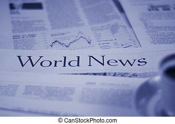 verden, sider, nyhed