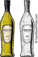 Verdicchio, dry white wine