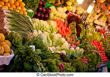 verduleros, mercado