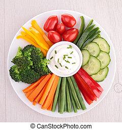 verdura, abbassarsi