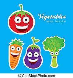 verdura, cartone animato
