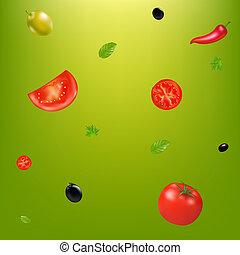verdura, fondo