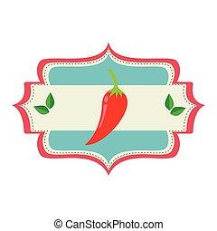 verdura fresca, producto, sello