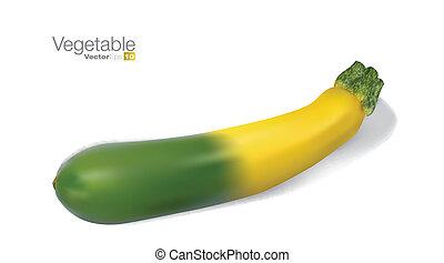 verdura, fresco, midollo