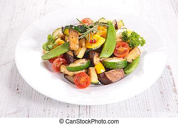 verdura, fritto