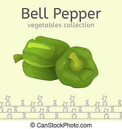 verdura, immagine, collezione