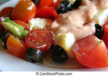 verdura, insalata