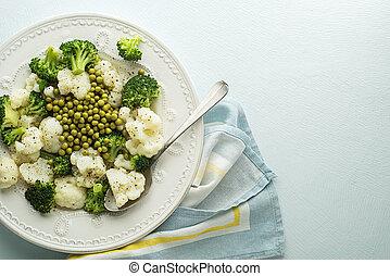 verdura, insalata, cotto