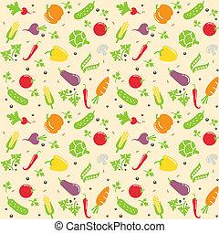 verdura, seamless, struttura
