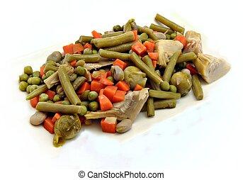 verdura, spezzatino