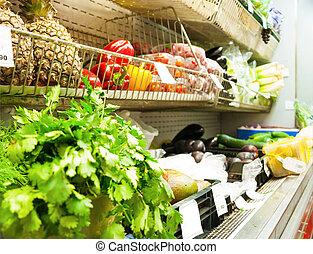 verdura, supermercato