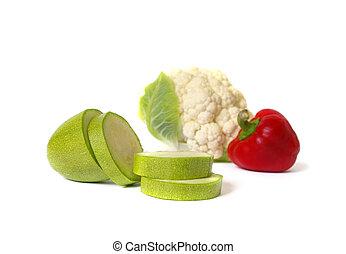 verduras cruas