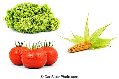 verduras cruas, low-calorie