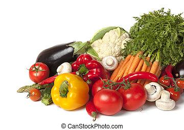 verduras frescas, colección