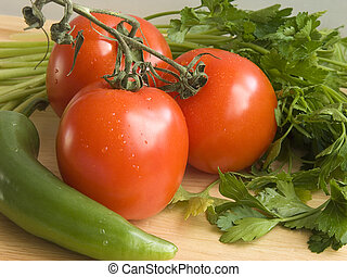 verduras frescas, iii