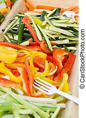 verduras mezcladas