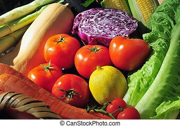 verdure fresche, varietà