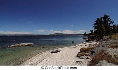 vereint,  national, Staaten,  Park, See,  Yellowstone