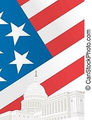 verenigd, capitool, staten, gebouw
