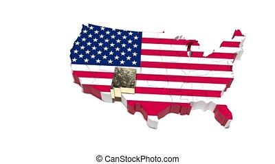 verenigd, mexico., staat, staten, america., nieuw