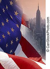verenigd, -, staten, york, nieuw, amerika