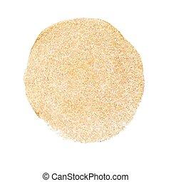 verf , acryl, vector, cirkel, goud