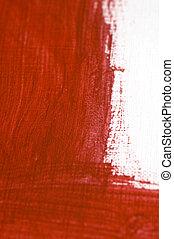verf , rood, textuur