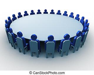 vergadering, 3d