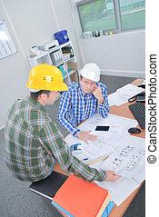 vergadering, arhitects