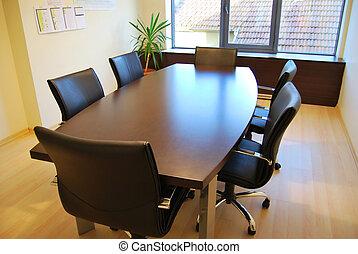 vergadering tafel