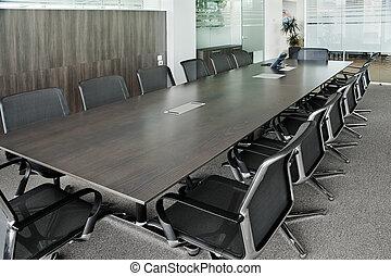 vergadering, zaal