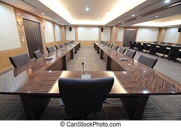 vergaderruimte, zakelijk