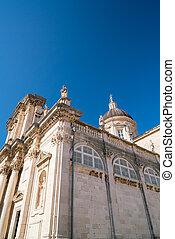 vergine, assunzione, mary, cattedrale