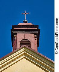 vergine, assunzione, mary, chiesa