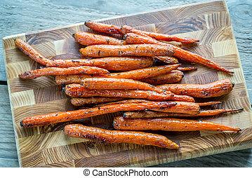 verglaasd, wortels