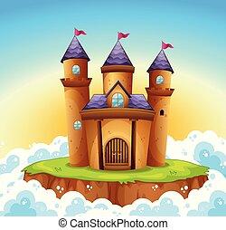 verhaal, elfje, kasteel