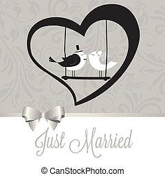 verheiratet, vögel, gerecht
