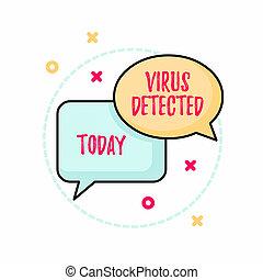 verhindern, malware, gebraucht, foto, rechteckig,...