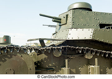 Light Soviet tank MC-1